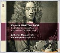 6 Sonatas for Harpsichord & Violin Bwv 1014-1019