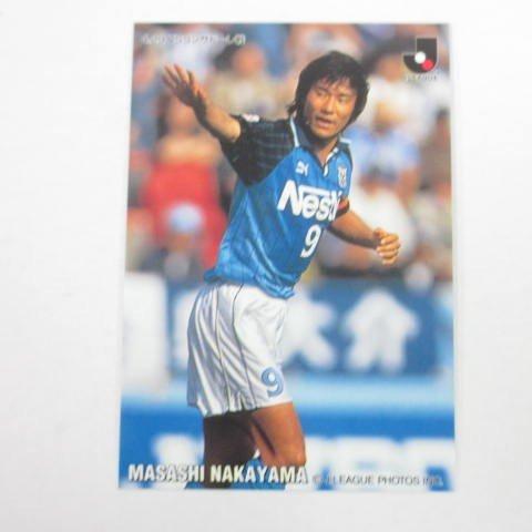1998カルビーJリーグチップス■レギュラーカード■133/中山雅史/磐田