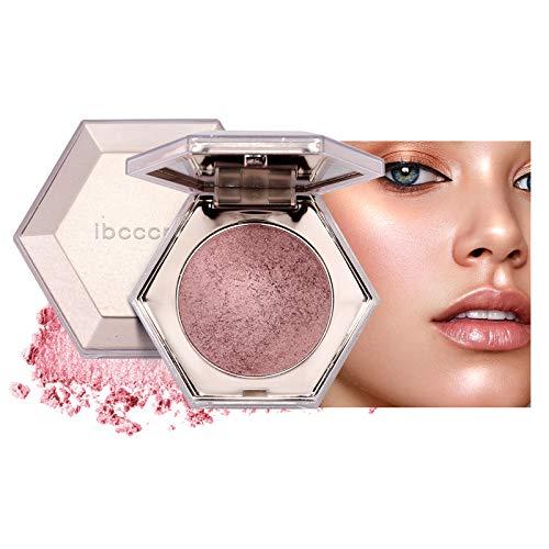 Mimore Polvo iluminador Diamante Highlight Paleta de resaltado Resplandor de maquillaje facial Polvo iluminador brillante (03)