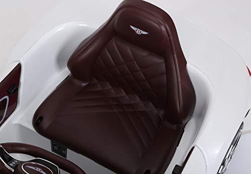 RC Auto kaufen Kinderauto Bild 4: Toyas Lizenz Bentley Kinder Elektrofahrzeug Kinderfahrzeug Kinderauto Elektroauto 2X 30W Motor Weiß*