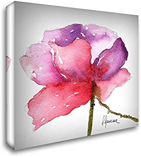Paragon in Pink 54x54 Extra Large Gallery Wrapped Stretched Canvas Art by May
