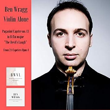 "24 Caprices for Solo Violin, Op. 1: Caprice in B-Flat Major ""Devil's Laughter"": Allegro"