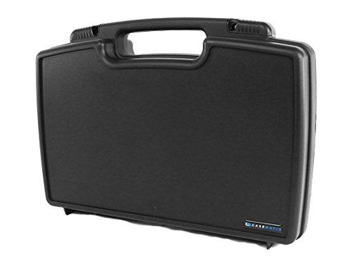 CASEMATIX Studio Mixer Case Compatible With ROLI Seaboard Block Controller, Cables and Small Accessories in Customizable Pre-Cut Pluckable Cubed Foam Interior - Includes Case Only