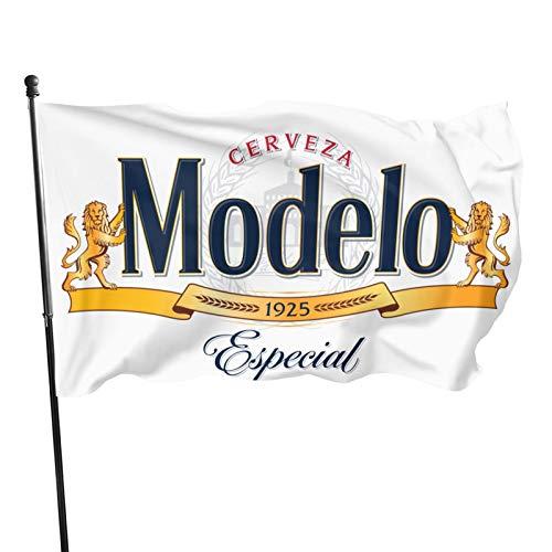 Husong Modelo Beer Logo Flag Banner 3x5 Feet