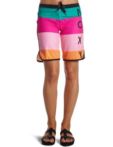 Roxy Damen Boardshort Color Block Long, Block Sunset, M, XIWBS144
