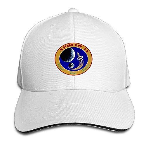 Apollo Mars Rocket Earth Fashion Snapback Peaked Sandwich Baseball Caps Unisex