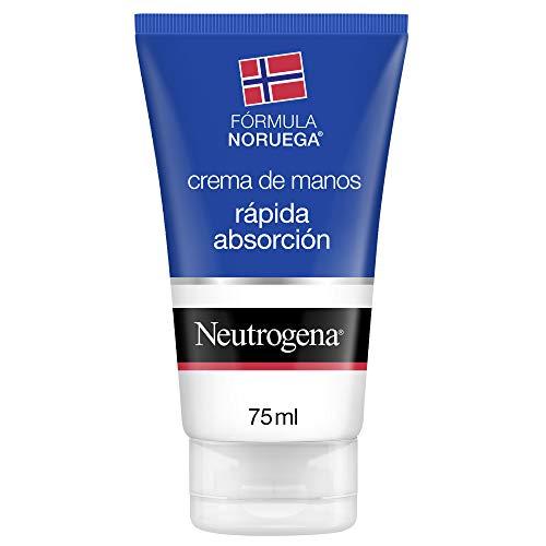 Neutrogena Crema de Manos Rápida Absorción Textura Ligera, 75 ml