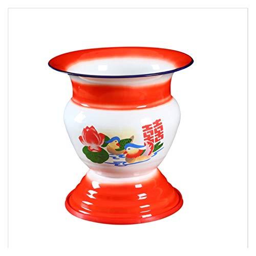 YIBANG-DIANZI Cubo de Hielo Cesta de Frutas, Estante de Vino Tinto, Soporte de Vino del Cubo de Hielo portátiles de enfriamiento rápido Cubiertos de Vino. para Fiestas Familiares (Color : Red)
