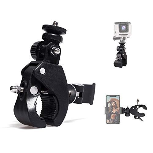 Kamera Super Clamp Schnellspanner Rohrklemme Rohr Fahrradklemme w / 1/4