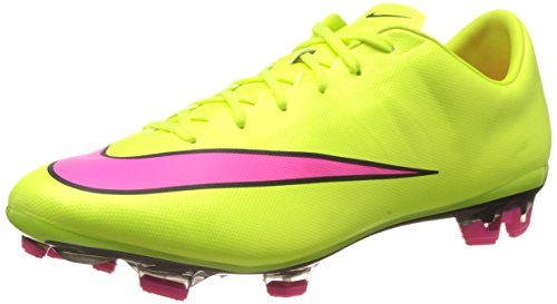 Nike Mercurial Veloce II FG, Herren Fußballschuhe, Gelb (Volt/Hyper Pink-Black 760), 43 EU