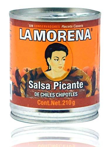 Salsa Picante de Chiles Chipotles La Morena 210g