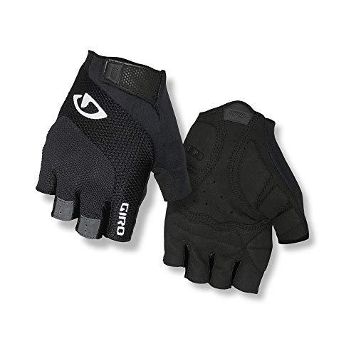 Giro Tessa Gel Women's Road Cycling Gloves - Black/White (2021), Medium