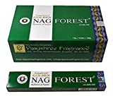 Golden Nag Forest, 12 Cajas de Incienso, 12x15g= 180g