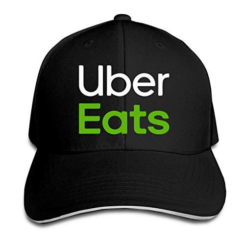 調整可能なUBER EATS野球帽ユニセックスキャップ