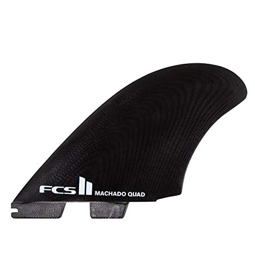 FCS II Machado Quad Fin Set - Black