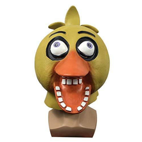 YTO Divertida mscara de Sombrero de Pato Donald, Lindo Sombrero de Animal para Fiesta de Disfraces, Accesorios de actuacin de Fiesta de Halloween(Color:Ugly Duckling)