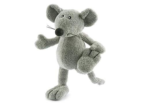 Nici 24068–Plüsch Ratte, grau, 20cm