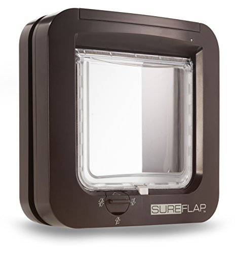 Sureflap Haustierklappe Mikrochip Cat Door Brown 1St