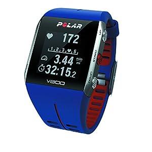 Polar V800 - Reloj deportivo con GPS y sensor de frecuencia cardíaca H7 HR Sensor, color azul