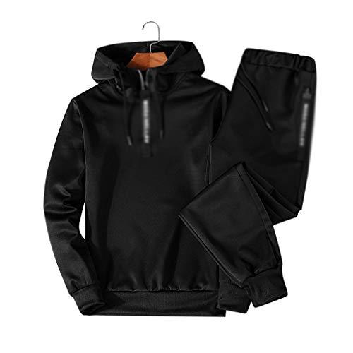 DDMYF Conjuntos Chándales Hombres Otoño Invierno Sudadera con Sudadera Sudadera Sportswear 2020 Masculino Traje Jersey Pieza Juego Casual (Color : B, Size : XXXX-Large)