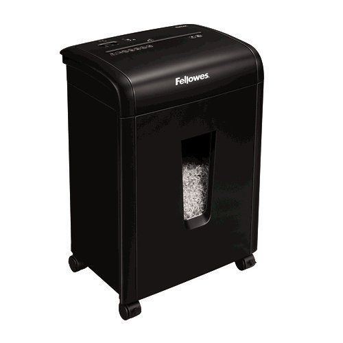 Fellowes Powershred 62MC Micro-Cut shredding 230mm Black Paper Shredder