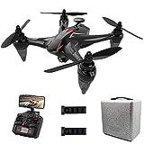 Yxs Drone avec Live Video 4K UHD caméra pour Adultes, 5G WiFi FPV GPS Quadcopter avec Moteur Brushless, Follow Me, 50mn (25 + 25) Long Time Flight