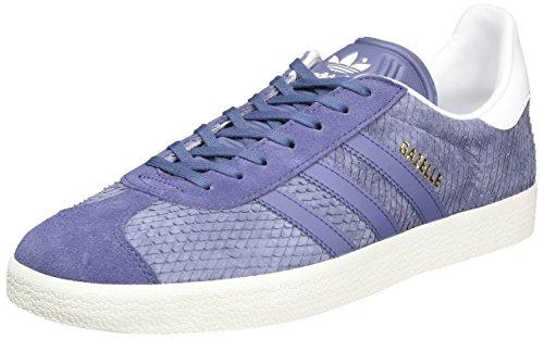 adidas Gazelle, Zapatillas de deporte Unisex Adulto, Varios colores (Chalk White/Still Breeze/Footwear White), 36 2/3 EU