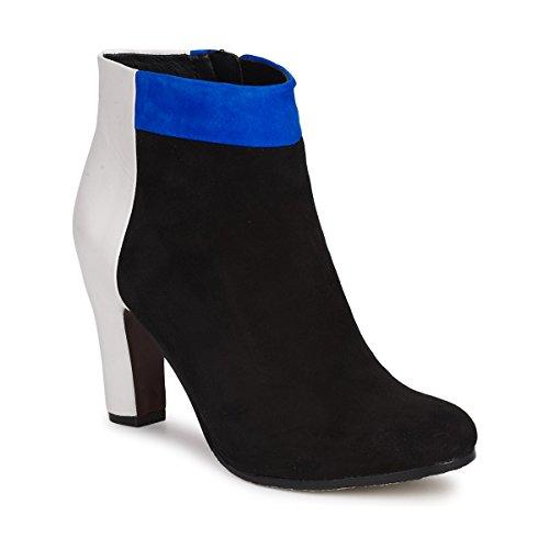SAM EDELMAN SHAY Enkellaarzen/Low boots dames Zwart/Blauw Enkellaarzen