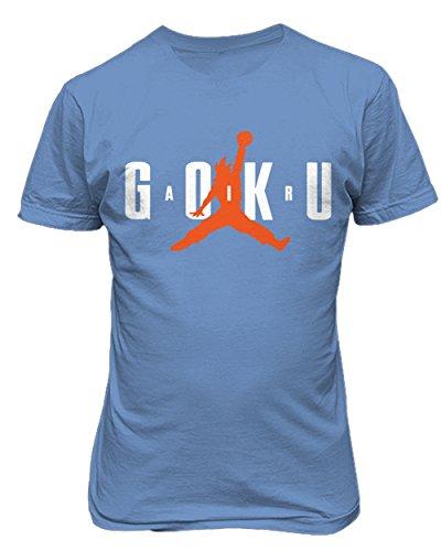 Super Saiyan Son Goku Air Goku Dragon Ball Z Mens T-Shirt Carolina Blue