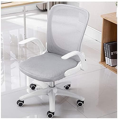 HZYDD La nueva silla se puede doblar la silla de la red de la oficina de la silla del estudio del hogar y de la silla del respaldo giratorio