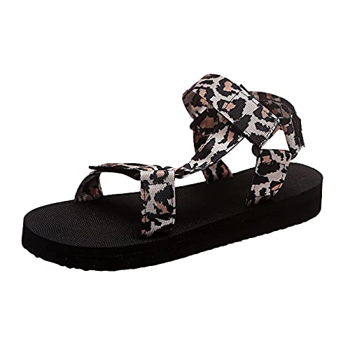 Beudylihy Sandalias de mujer europeas y americanas, con plataforma de pez, para verano, primavera y playa, zapatillas de estar por casa, zapatos descalzos, color, talla 40 EU