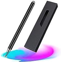 2in1 スタイラスペン 高感度 金属製 軽量 スマートフォン タブレット タッチペン Android iPad iPhone対応
