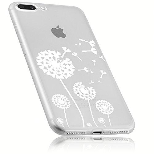 mumbi Hülle kompatibel mit iPhone SE 2 2020/7 / 8 Handy Case Handyhülle mit Motiv Pusteblume, transparent