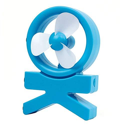 HUYURI Portable Mini Air Fan Cooler Conditioner USB Desktop Easy Cool Rechargeable Fans White