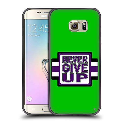 Head Case Designs Offizielle WWE John Cena Never Give Up 2018/19 Superstars 4 Enganliegende Hybride Glasierte Huelle kompatibel mit Samsung Galaxy S7 Edge
