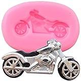 ZHQJY 3D Motorrad Silikonformen...