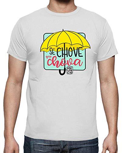latostadora - Camiseta Se Chove Que Chova para Hombre