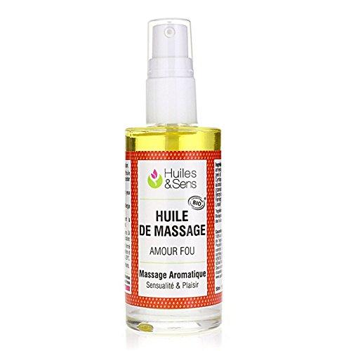 Huiles & Sens - Huile de massage Amour Fou - 100 ml