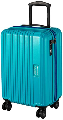 [チャンピオン] スーツケース 3.4kg 41L 機内持込可 エキスパンド 機内持ち込み可 48 cm ターコイズ