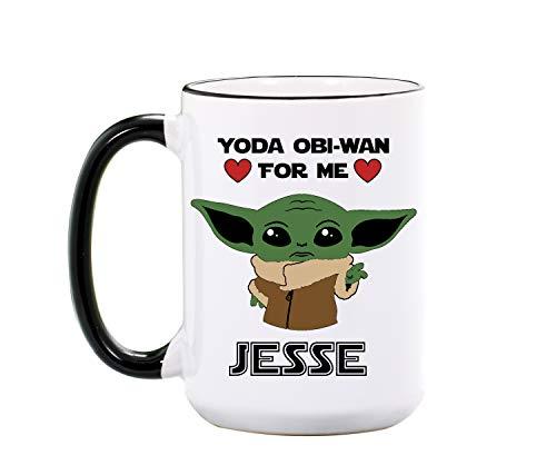 Personalized Baby Yoda Mug