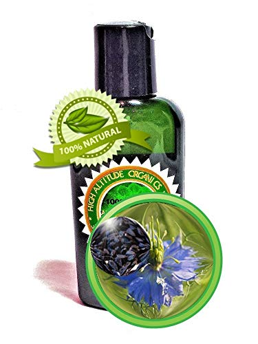 Black Cumin Seed Oil (Black Seed Oil) - 2oz/60ml - Virgin,...