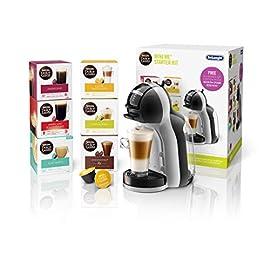 De'Longhi Nescafé Dolce Gusto Mini Me, Single Serve Capsule Coffee Machine Starter Kit, Including 6 boxes of Coffee Pods…
