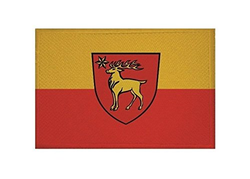 U24 Aufnäher Sigmaringen Fahne Flagge Aufbügler Patch 9 x 6 cm