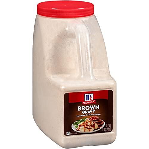 McCormick Brown Gravy Mix, 6 lbs