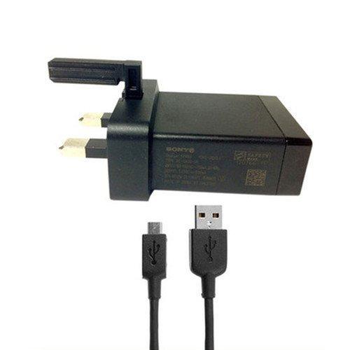 Original Sony Ericsson EP880Netzteil USB Ladegerät + Micro Daten Kabel für Sony Ericsson Xperia Z, Xperia E, Xperia J