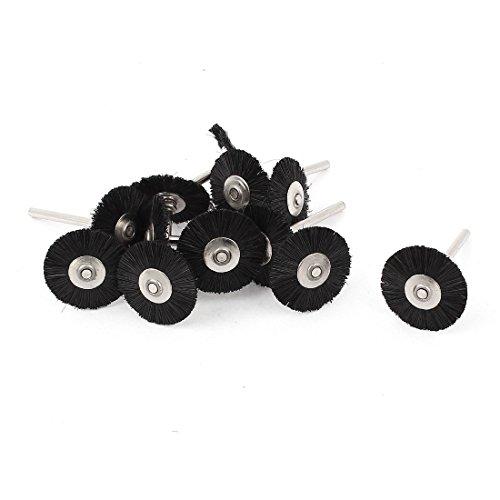 Sourcingmap - 12x 1/8 pulgadas de nylon rueda de vástago 25