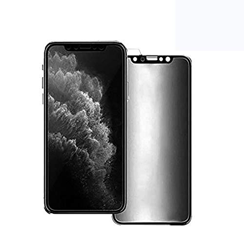 For iPhone12 mini 11 Pro Max XS XR X SE 7 8(for 11/XR) Ceramic Privacy Soft Film, Privacy Full Covered Soft Screen Protector Film 2pcs -IPHONE_11PROMAX/XSMAX