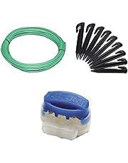 Genisys Juego de reparación S+ compatible con Husqvarna ® Automower ® 520 550 cable gancho conector