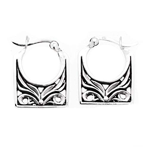 TreasureBay Beautiful 925 Sterling Silver Earrings for Women, Thai Silver Earrings
