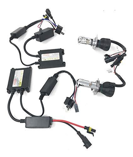 Steuergerät für Xenon-Leuchtmittel, Slim, Sockel H4-3, 6.000°K Weiß, 35W, für Auto
